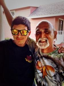 grandson and grandpa
