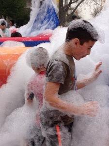 Into the foam