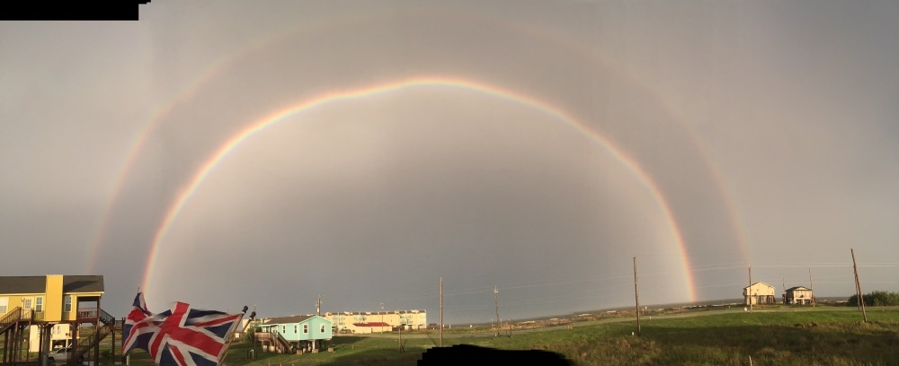 Huge Double Rainbow