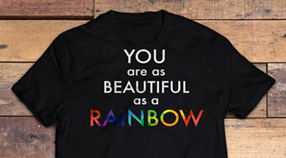 You are as Beautiful as a Rainbow T-Shirt