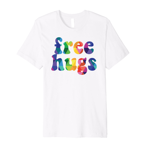 FreeHugsTshirtWhite_HiderHouse