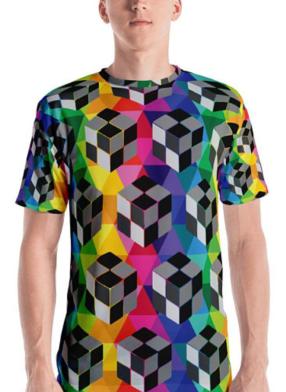 HiderHouse3DCubeTshirt