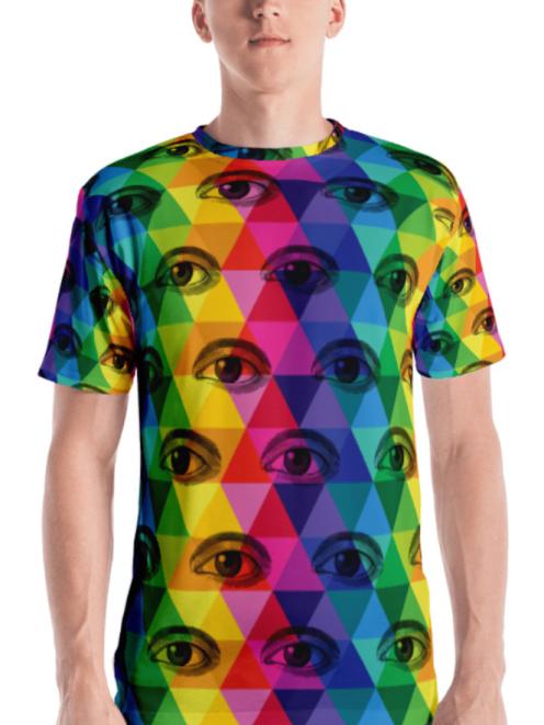 HiderHouseEyeTshirt